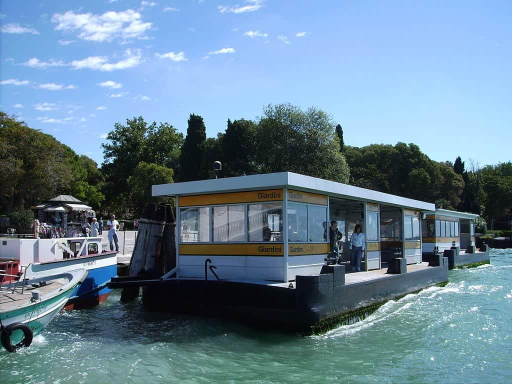 Lido di Jesolo Venise: ponton de départ Actv