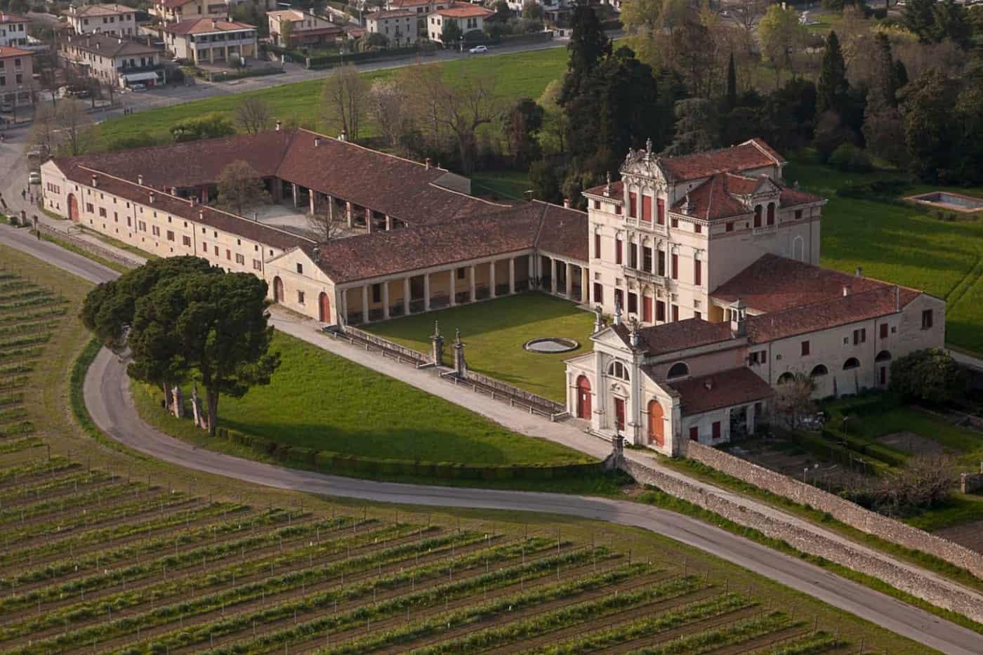Villas Vénitiennes à visiter: Villa Angarano
