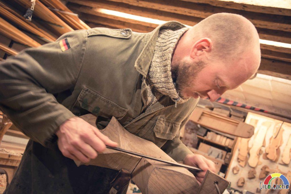 L'atelier du fabricant de rames à Venise - VivoVenetia