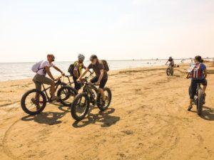 Tour en fat Bike au Lido de Venise - VivoVenetia