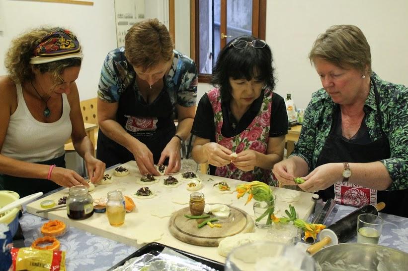 Cours de cuisine et de langue italienne à Venise