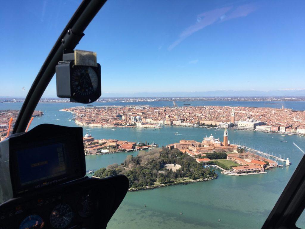 Tour en hélicoptère - Venise vue du ciel : Mille émotions et une perspective unique !