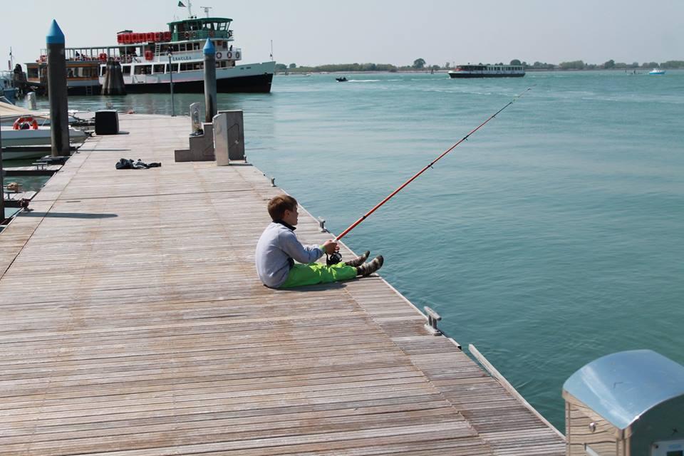 Cours de pêche pour toute la famille à Cavallino-Treporti