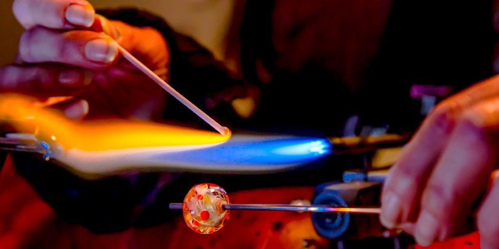 Perle au Chalumeau: cours de fabrication de perles à Murano (1h30)