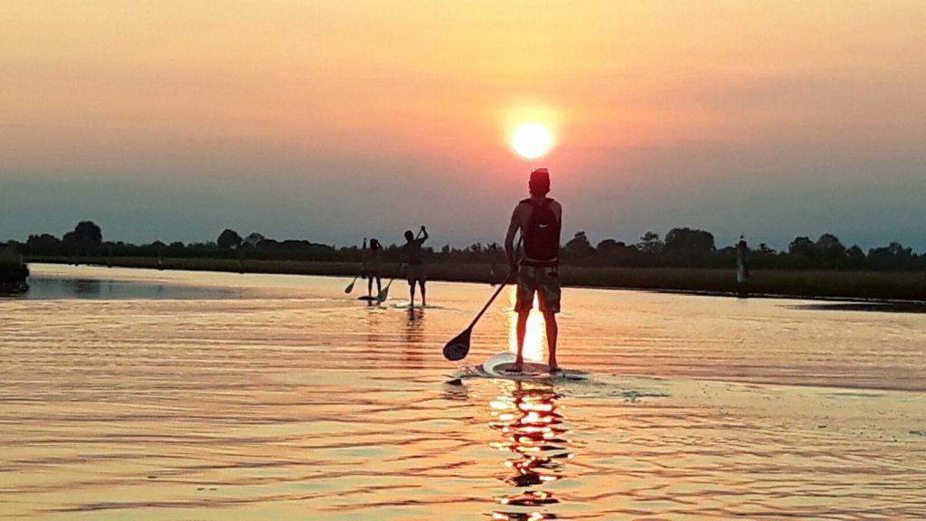 Excursion en Sup à Jesolo - Découvrez le Nord de la lagune