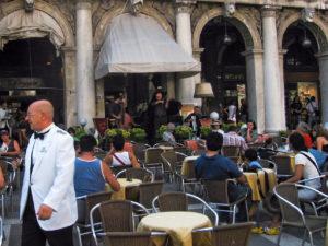 Ресторан в Венеции на площади Святого Марка