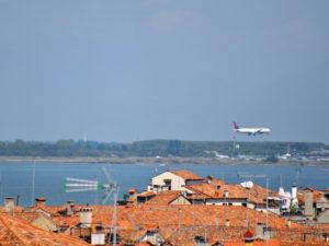 Прилет в Венецию в аэропорт