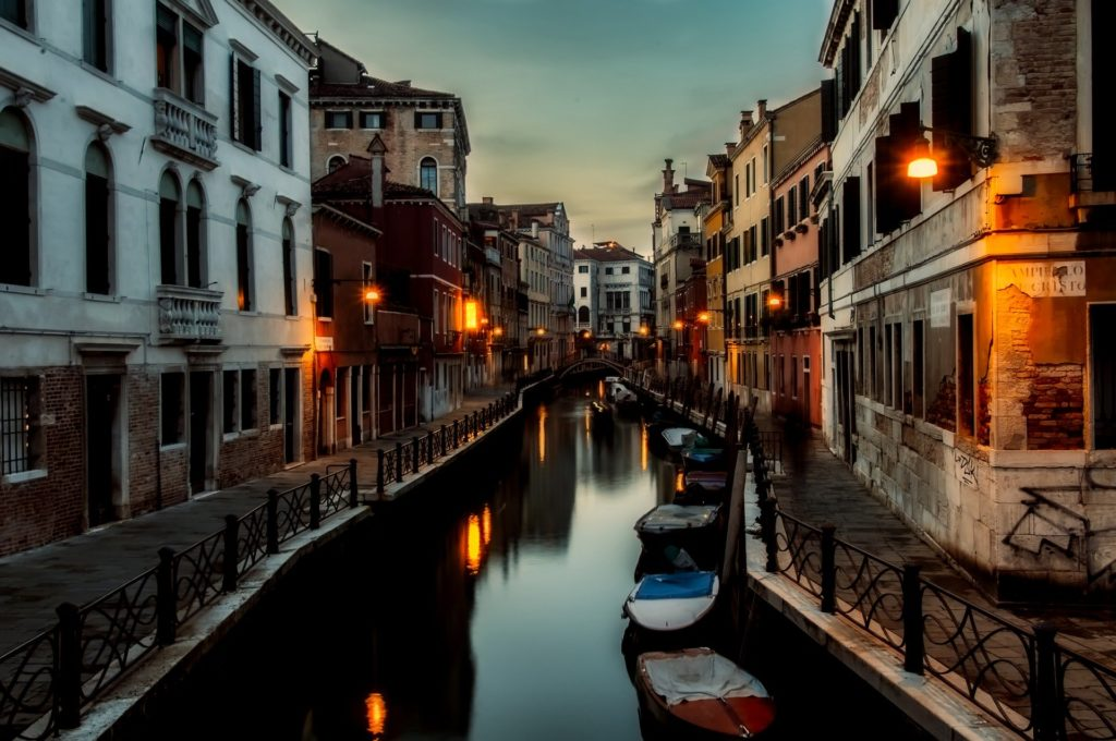 Venise en amoureux - soirée romantique