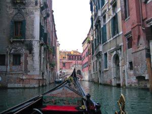Venise en amoureux - ballade en gondole