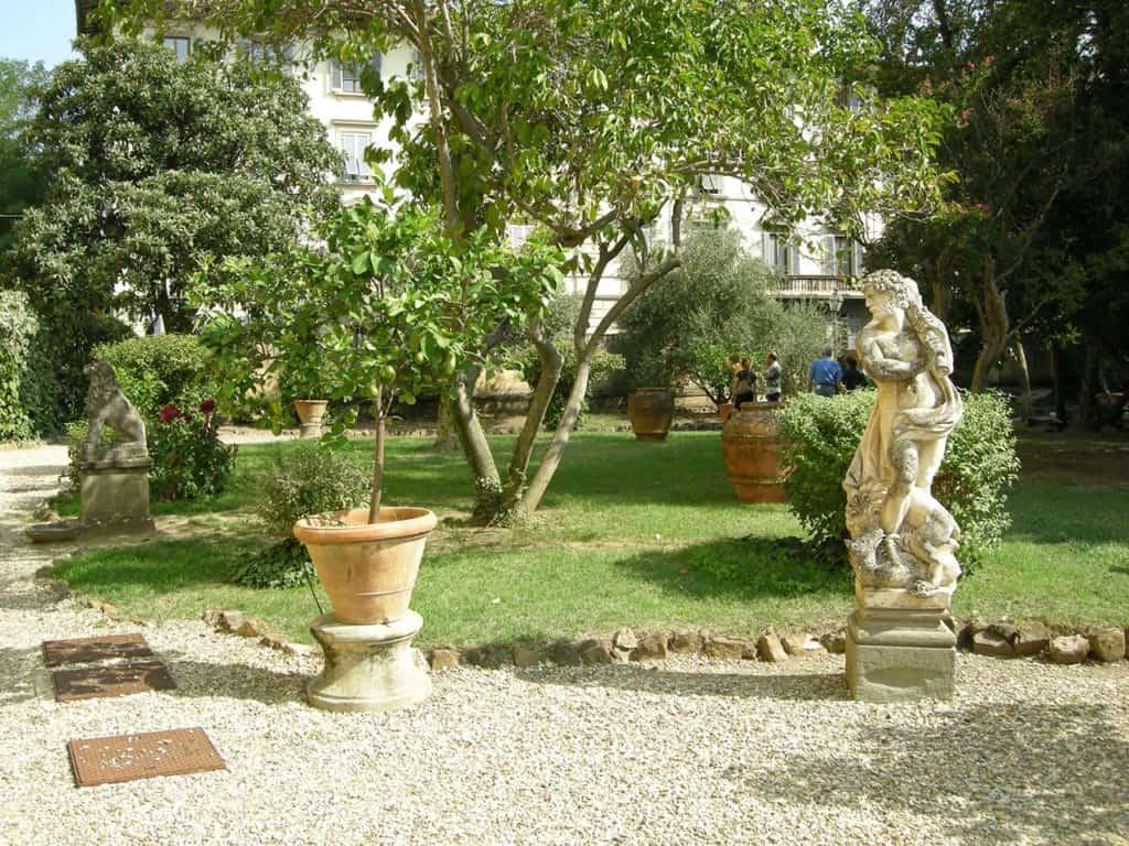 endroit insolite venise : ses jardins