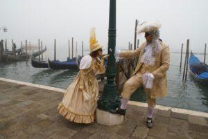 Carnevale di Venezia, abiti per servizio fotografico