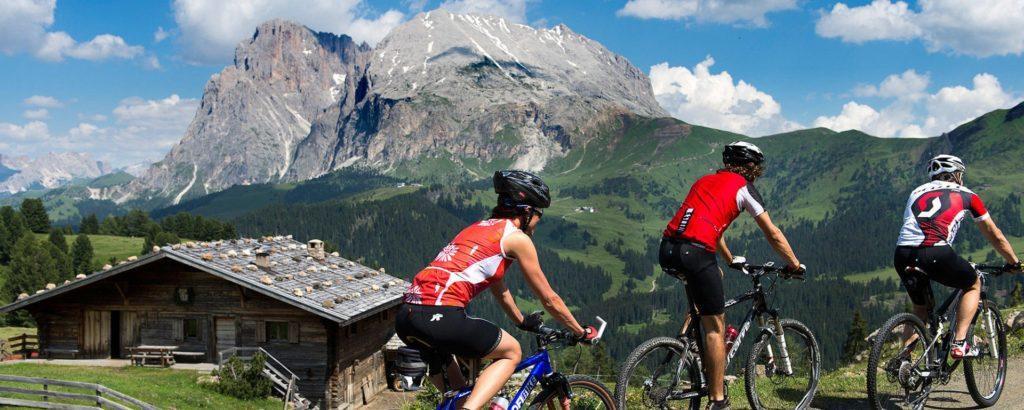 Location de vélos dans les Dolomites