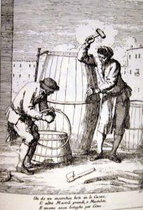 Fabrication des tonneaux Venise - Vivovenetia
