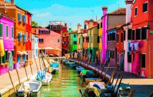 Esxcursion iles de la lagune Venise - Burano