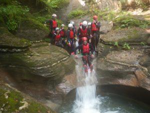 Canyoning au Val Maggiore - VivoVenetia