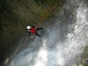 canyoning in the Val Maggiore