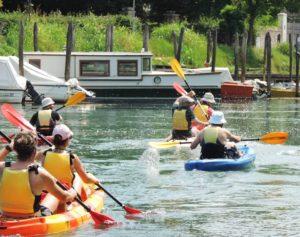 Parc Naturel du Sile : excursions en kayak et à vélo!