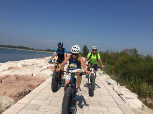 Escursioni in Bici al Lido di Venezia