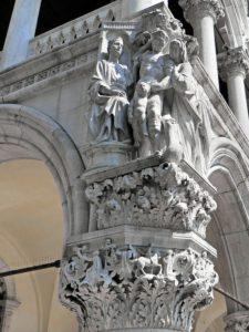 sculpture palais des doges