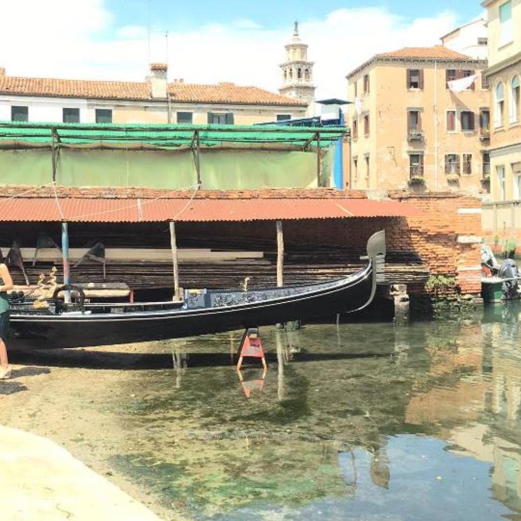Le squero de Venise: visite d'un chantier naval