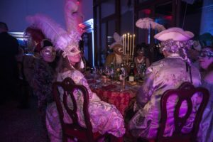 dinner at carnival in love party