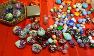 Atelier de création d'un bijou contemporain à Murano