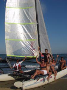 Bateau à voile location Venise skipper