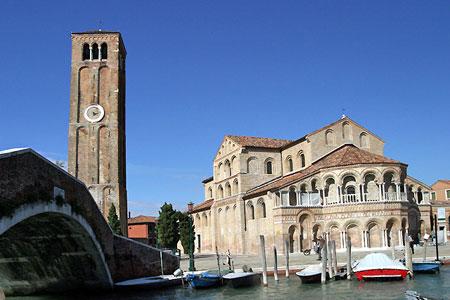 Visite de Murano - Burano - Torcello depuis Cavallino. Tous les lundis
