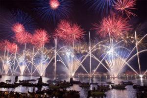 Fête du Rédempteur 2019 - Dîner sur bateau dans la lagune de Venise