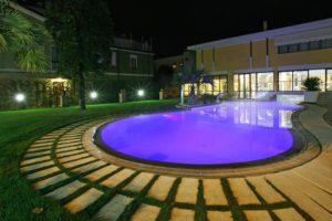 Spa Hotel ad Abano: Piscina esterna