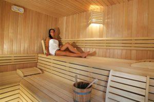 Terme di Abano: Sauna finlandese