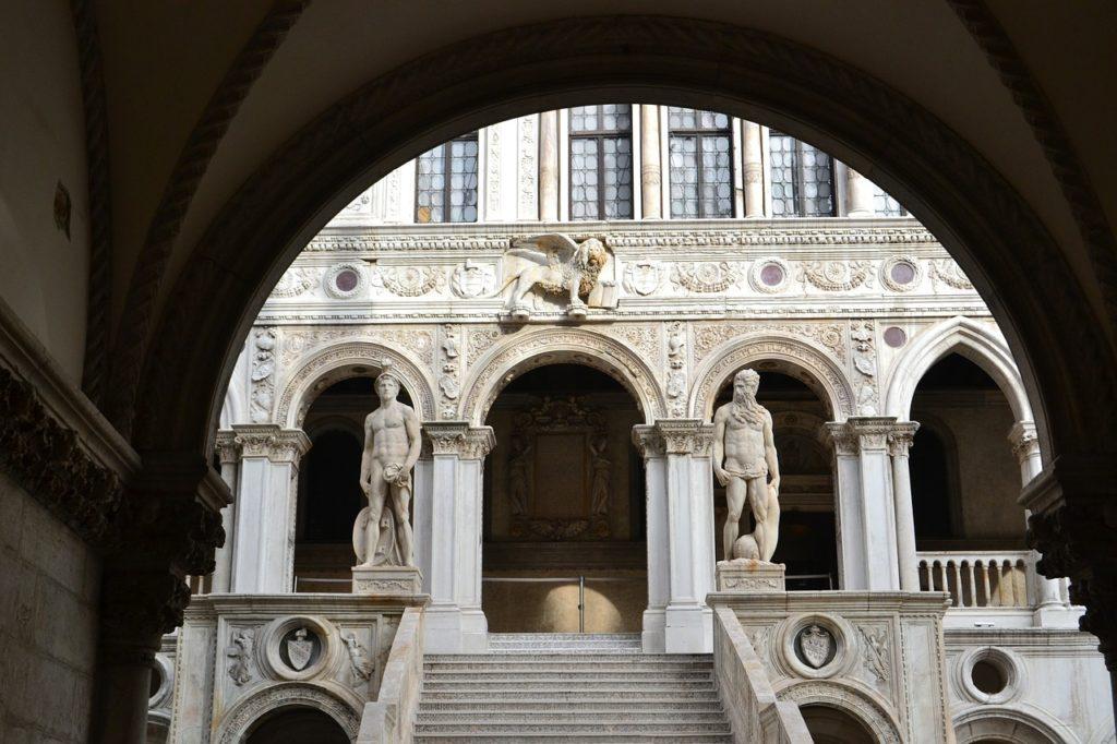 escalier palais des doges de venise