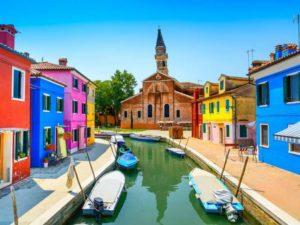 Lagune de Venise en bateau- Santa-barbara - Vivovenetia