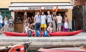 Venise Kayak privé vivovenetia
