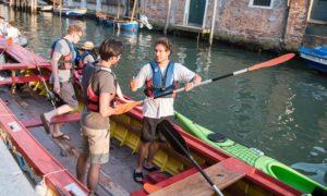 Venise Kayak canal vivovenetia