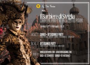 Soirée classique carnaval de Venise Le barbier de Séville