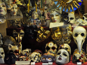 Shopping a Venezia - maschere artigianali