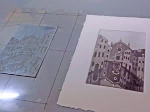 Corso artigianato Venezia. Stampa artistica