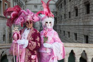 soirée carnaval de venise - costumes