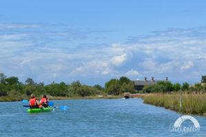 Lio piccolo canoe Lagune Venise