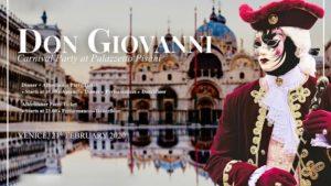 Soirée classique Carnavl de Venise Don Giovanni