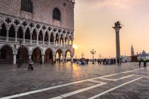 Diner croisière Venise Place Saint Marc Vivovenetia