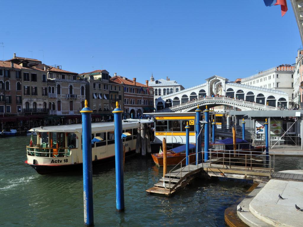 Транспорт Венеция. Вапоретто