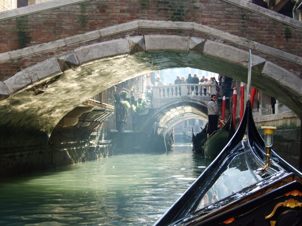 gondole promenade Venise